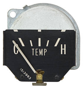 1960 Eldorado Gauge, Temperature Horizontal Sweep