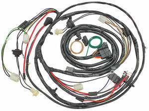 1970 El Camino Forward Lamp Harness V8 w/Warning Lights (Ext. Reg.)