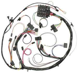 1971-1971 Chevelle Dash/Instrument Panel Harness All, Round Gauge Type, by M&H