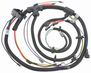 1973-1973 Chevelle Engine Harness V8 w/Warning Lights, by M&H