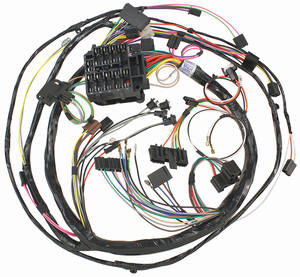 1970 Skylark Dash/Instrument Panel Harness Console Shift, AT, by M&H