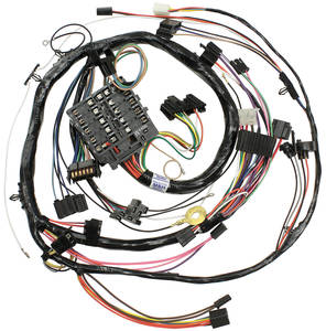 1972 Monte Carlo Dash/Instrument Panel Harness (Round-Gauge Type)