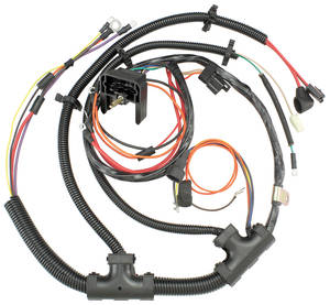 1973 Monte Carlo Engine Harness V8 (TH400 with Gauges)