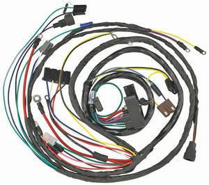 1972-1972 Cutlass Engine Harness V8 Automatic Transmission, by M&H