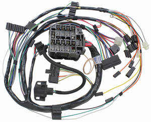 1972-1972 Cutlass Dash/Instrument Panel Harness Automatic Transmission, by M&H