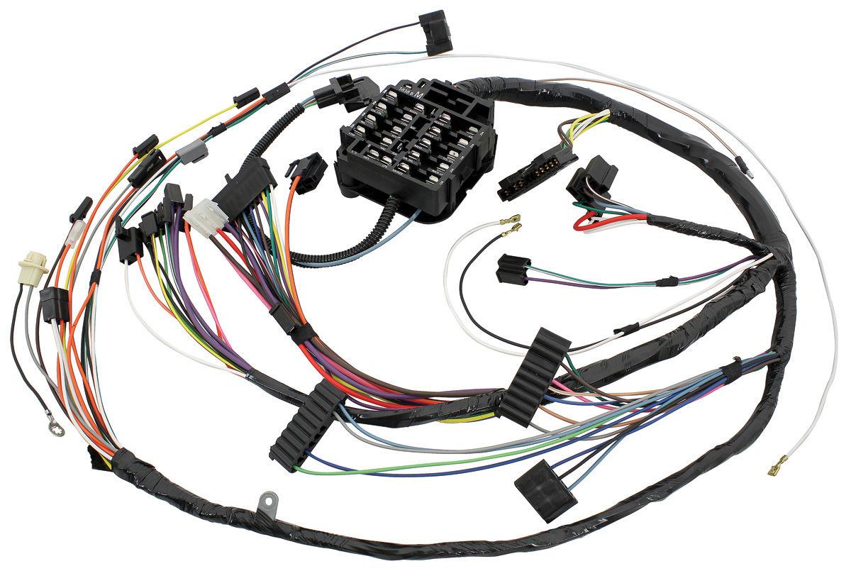 1972 cutlass dash  instrument panel harness all