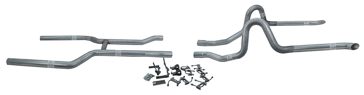 Photo of Exhaust Kit, High-Performance (Complete) w/o mufflers