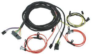 1972 Cutlass Rear Light Intermediate Harness Convertible w/Seat Belt Warning