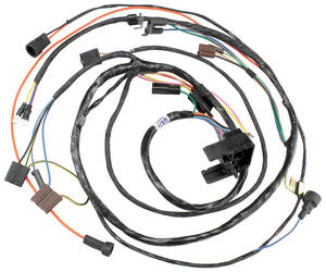 1971-1971 El Camino Engine Harness 396/454 Auto Trans., by M&H