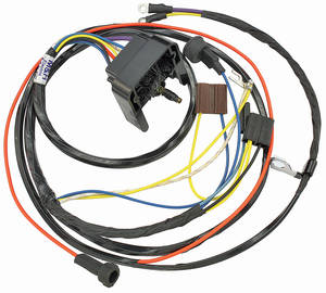 1969-1969 Chevelle Engine Harness V8 w/Warning Lights, by M&H