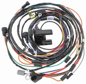 1972-1972 Monte Carlo Engine Harness V8 (TH400 with Automatic Transmission & Gauges), by M&H