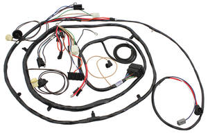 1970-1970 Monte Carlo Forward Lamp Harness (V8 with Gauges), by M&H