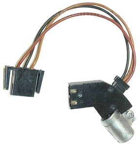 "1975-77 Grand Prix Ignition Module To Coil Harness (HEI) 3.5"" Wires, by Lectric Limited"