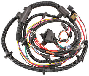 1973-1974 El Camino Engine Harness 396/454 w/Auto Trans. & Warning Lights, by M&H