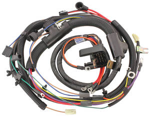 1973-1974 Chevelle Engine Harness 396/454 w/Manual Trans. & Gauges, by M&H