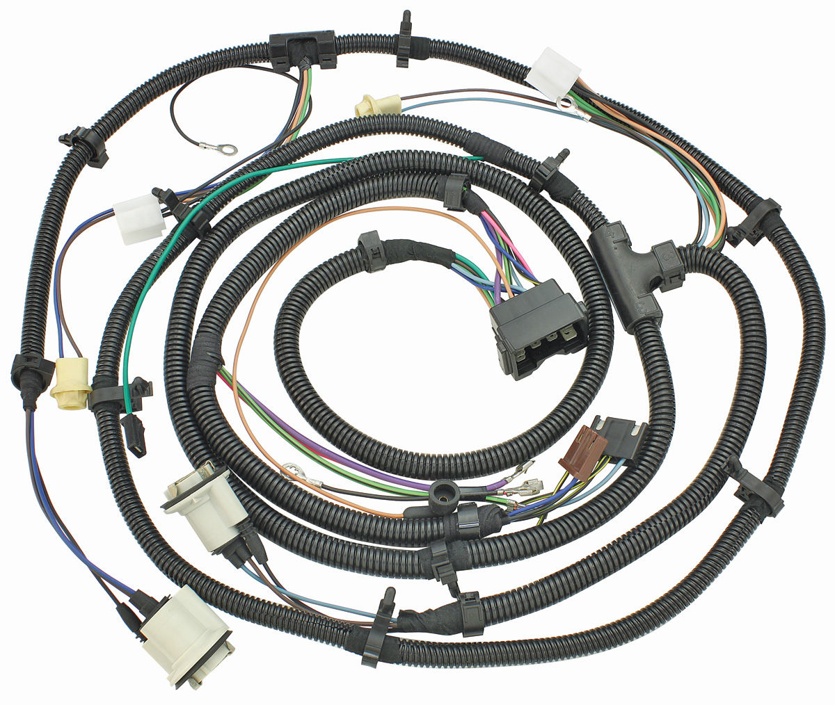M U0026h 1974 Chevelle Forward Lamp Harness All Models Exc