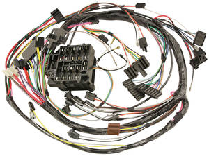1970 Skylark Dash/Instrument Panel Harness Column Shift, AT or All MT, w/Gauges, by M&H