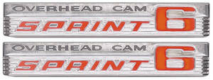 "Tempest Fender Emblem, 1966 ""Overhead Cam Sprint 6"""