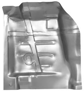 GTO Floor Pan Sections, 1968-72 (Steel) Front
