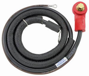 1970 Monte Carlo Battery Cable, Original Style Side Post (Positive)