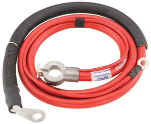 1971-1971 Cutlass Battery Cable, Spring Ring Positive V8, 455CI, by M&H