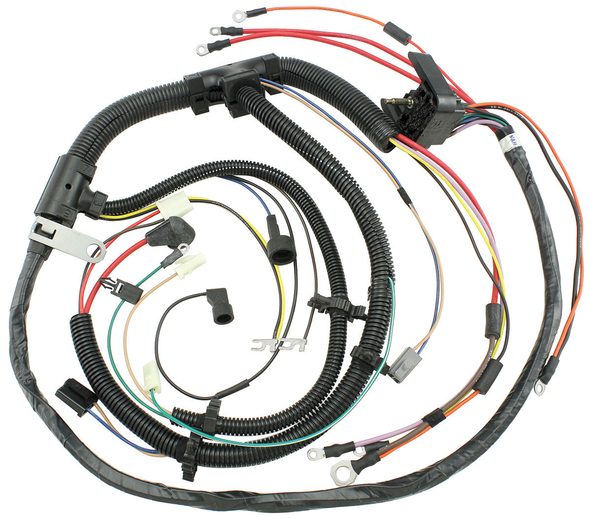M U0026h 1974 Chevelle Engine Harness V8 W  Manual Trans