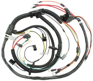 1974-1974 Chevelle Engine Harness V8 w/Manual Trans. & Gauges, by M&H