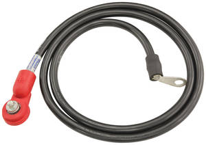 1974 Cutlass Battery Cable, Side Post Positive V8, 350CI