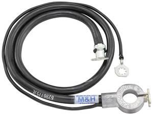 1969-1969 Skylark Battery Cable, Spring Ring Negative V8, 350, by M&H
