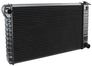"1971-1971 Cutlass Radiator, Original Style 1971 V8 (17"" X 28-3/8"" X 2"") AT (3-Row), by U.S. Radiator"