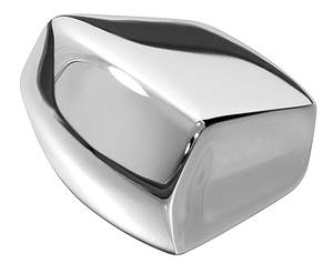 1967-1972 Chevelle Seat Track Adjustment Knob (Front Seat) Chrome (on Track – Slider), by RESTOPARTS