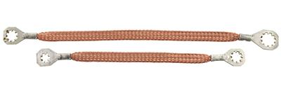 1969-1969 GTO Engine Ground Straps V8, by Lectric Limited