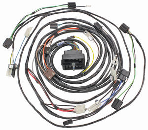 1963-1963 Cadillac Forward Lamp Harness (with Air Conditioning) (Except Series 75), by M&H
