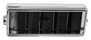 "1969-1972 El Camino Air Outlet Deflector ""Rectangle"" Center Dash Vent"