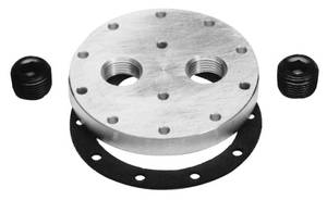 "1964-1972 Cutlass Fuel Pump Plate Kit, Bottom Feed Street Fuel Pump (3/8"" NPT), by Edelbrock"
