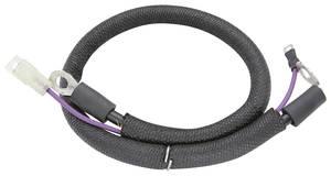 1962-63 Skylark Battery Cable, Spring Ring Positive Jumper-Jct Block To Starter, by M&H