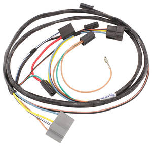 1969-72 Skylark Air Conditioning Harness Includes Heater Wiring