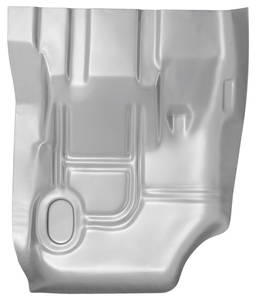Cutlass/442 Floor Pan, 1973-77 Steel Rear 1/4 Section