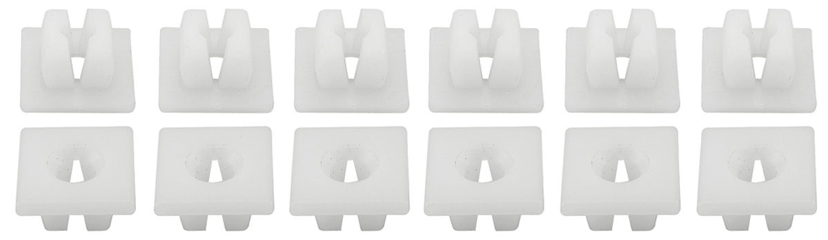 "Photo of Push-In Plastic Nuts used with 1/4""-20 Screw"