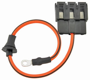1970-1972 El Camino Power Accessory Feed Wire Circuit Breaker-To-Main Harness (Three Cavity Connector), by M&H