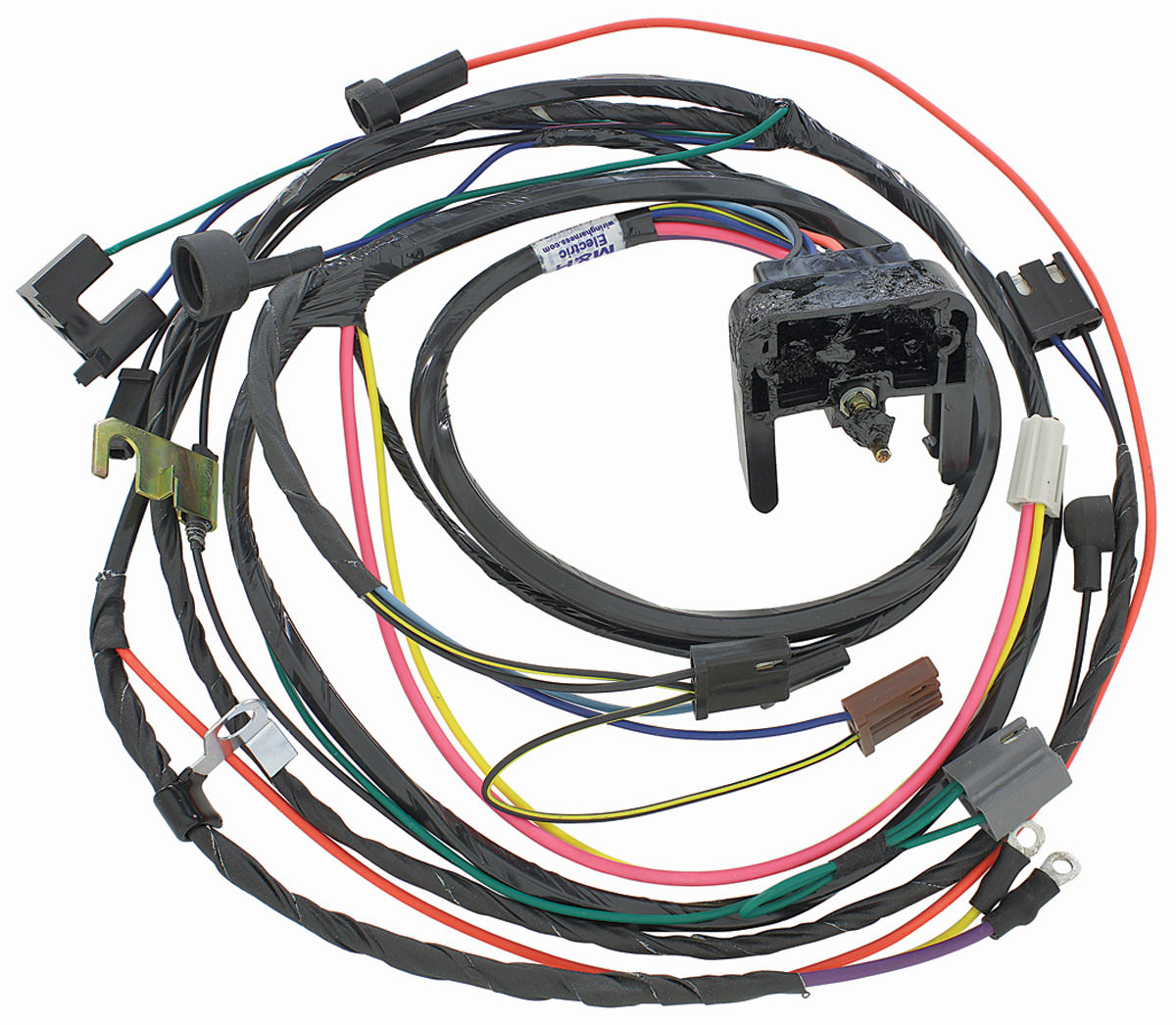m amp h engine harness 396 454 hei w manual trans fits 1970 1967 el camino wiring diagram