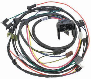 1970-1970 El Camino Engine Harness 396/454 HEI w/Manual Trans., by M&H