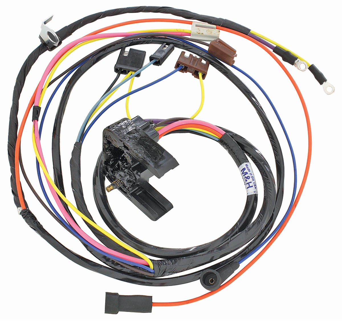 38939-lrg  Chevelle Wire Harness Clips on wire management clips, wire ring clips, wire holder clips, ford fuel line safety clips, wire clips and fasteners, wire loom install tool, wire lead clips, wire retainer clips, wire panel clips, wire piercing probe for multimeter,