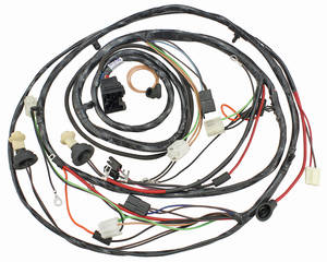1970 El Camino Forward Lamp Harness V8 w/Gauges (Alt.: Pass.) (Int. Reg.), by M&H