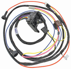 1968-1969 El Camino Engine Harness 396 HEI w/Warning Lights, by M&H