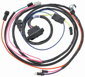 1966-1966 El Camino Engine Harness 396 HEI w/Warning Lights, by M&H
