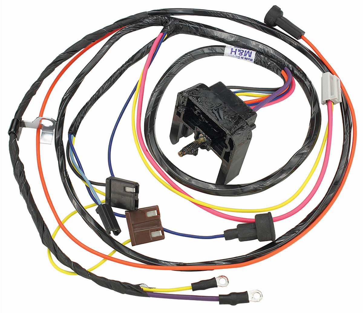 1969 Gm Coil Wiring Example Electrical Diagram M H Chevelle Engine Harness V8 Hei Small Block W External Resistor Chevy Ignition