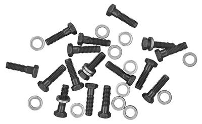 1970-1972 Monte Carlo Exhaust Manifold Bolts, Original Small-Block (with Washers)