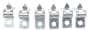 "1964-68 El Camino Fuel Line Clamp, Bolt-On 3/8"" (6-Piece)"