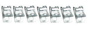 "1969-1972 El Camino Fuel Line Clamp, Bolt-On 3/8""–1/4"" (7-Piece)"